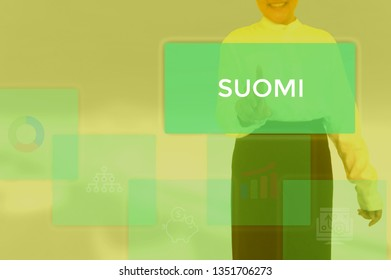 SUOMI - technology and business concept