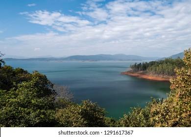 Supa Dam built across Kalinadi or Kali river in state of Karnataka in India.