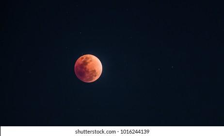 Super Blue Blood Moon  31.01.2018  8.00PM Thailand