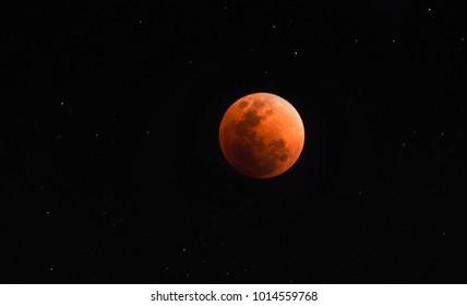 The Super Blue Blood Moon Eclipse
