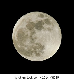 Super Blue Moon 01/31/2018 Caerphilly Wales UK