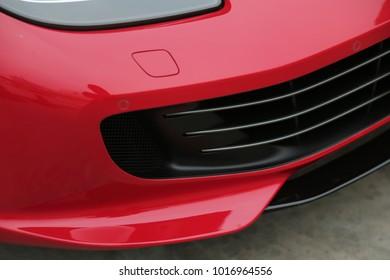 Super car's exterior design