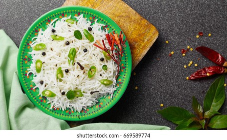 super delicious beans rice with garnishing
