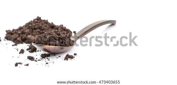 Super Food Dried Maqui Berry Powder Stock Photo Edit Now 473403655