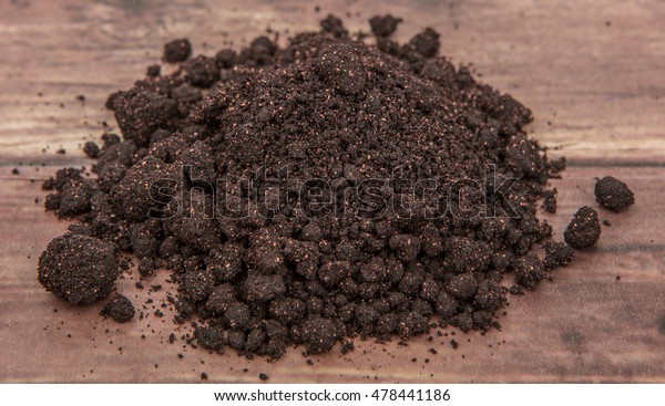 Super Food Dried Maqui Berry Powder Stock Photo Edit Now 478441186