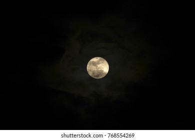 Super full moon 2017, Thailand