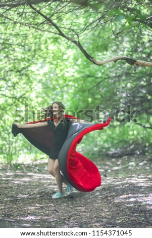 3ecf7b6df Super Hero Supper Woman Sexy Girl Stock Photo (Edit Now) 1154371045 ...