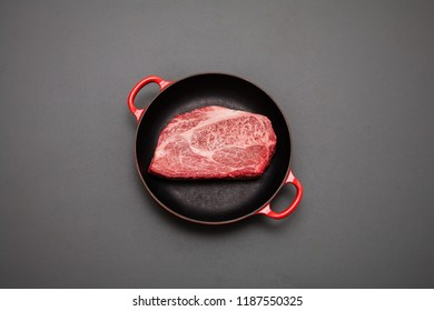 Super high-quality thick slice Japanese beef steak