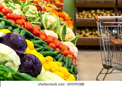 Super Market in vegetables