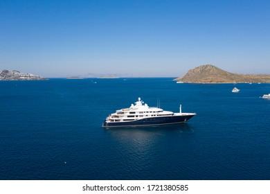 Super Mega Yacht Luxury Holiday at sea marina