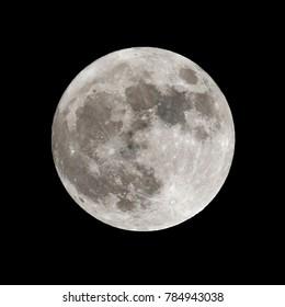 Super Moon 01/01/2018