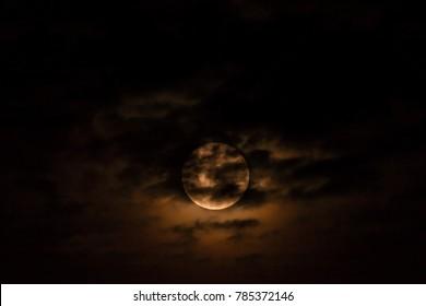 Super moon on Jan 03-2018