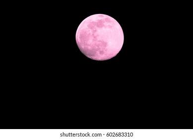 Pink Moon Images Stock Photos Vectors Shutterstock