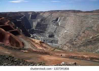 Super Pit at Kalgoorlie, Western Australia.