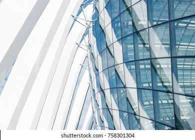 Super structure and architecture facade of modern building., Abstract architectural.