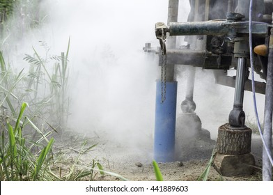 Superb condition greenhouse gas Causing drought in some Asian countries, lack of water used to drill water from underground