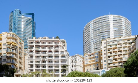 Superb residential apartment buildings,  one of the most beautiful in Monaco, close to the beaches