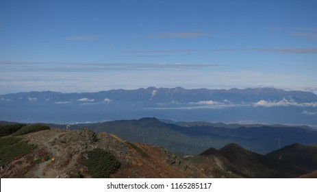 Superb view from japanese north alps and fujiyama when I treked.