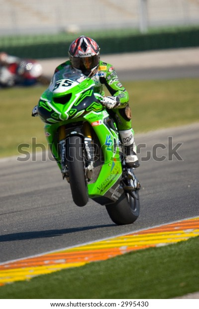 SuperBikes in Cheste 2007 - Valencia Marzo Training