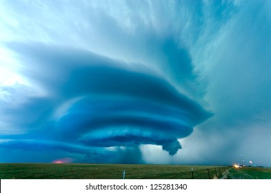 Supercell near Vega in Texas, May 2012