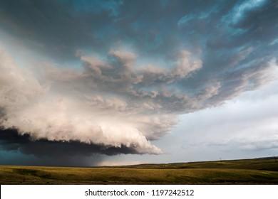 Supercell Thunder Storm