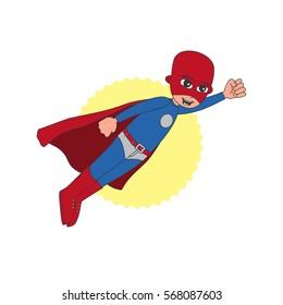 superhero cartoon