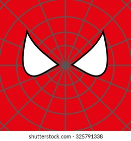 Superhero Face Background