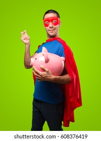 a superhero worried about his economy