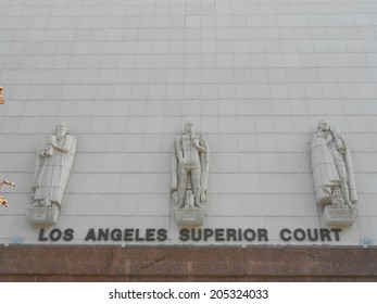 Superior Court in Los Angeles California USA