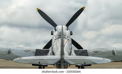 Supermarine Spitfire Mk. XVI  from the back