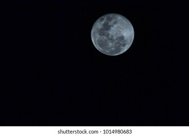 Supermoon in 2018