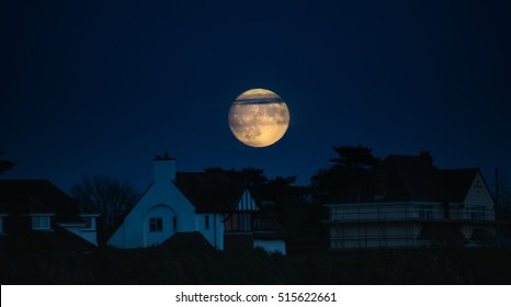 Supermoon November 2016, Hampshire, UK
