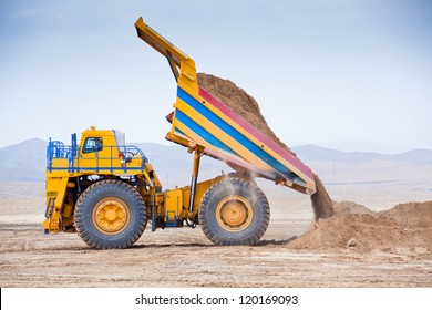 The supersize car unloading ore