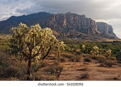 Superstition Mountains; Arizona