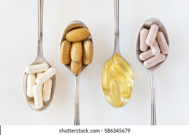 Supplements on teaspoons