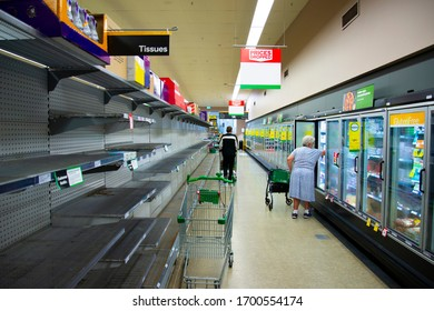 Supplies Shortage in the Grocery Store