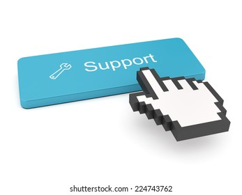 Support Button on Keyboard