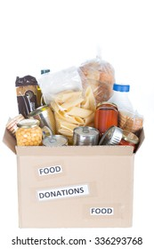 Supportive housing or food donation for poor