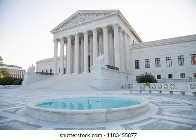 The Supreme Court of America in Washington DC