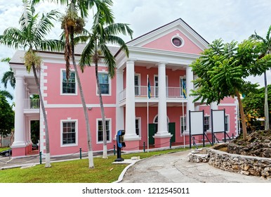 The Supreme Court Building in Nassau, The Bahamas