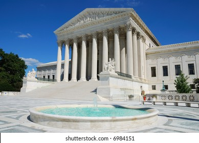 The Supreme Court building is the seat of the Supreme Court of the United States.