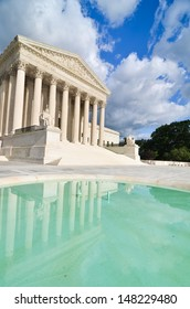 Supreme Court Building in Washington, DC, United States