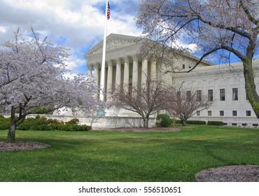 The Supreme Court Building, Washington, DC