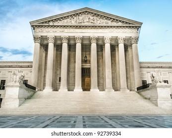 Supreme Court Building, West Entrance