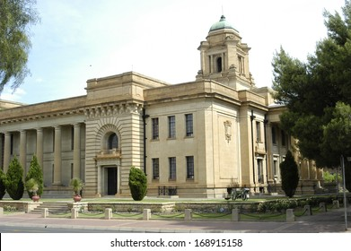 Supreme court, built with sandstone, Bloemfontein, South Africa