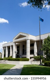 Supreme Court of Nevada building in Carson City, NV.