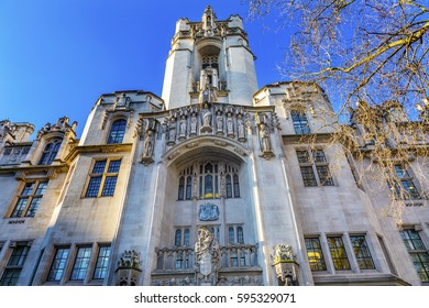 Supreme Court United Kingdom Middlesex Guildhall Westminster London England.  Guildhall became Supreme Court in 2005.