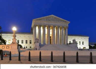 Supreme Court of United States - Night shot