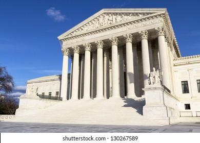 Supreme Court in Washington, DC, United States