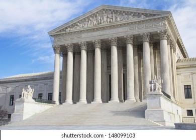 Supreme Court in Washington, DC, United States of America